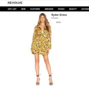 NEW Tularosa Ryder Dress  CREAM Small